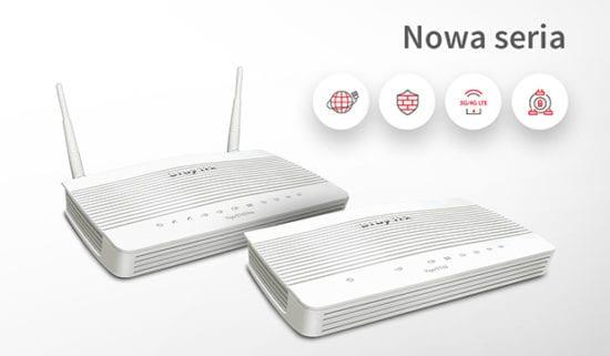 Premiera nowej serii Vigor 2762 –routerów VDSL2/ADSL2+