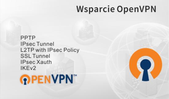 Protokół OpenVPN wrouterach DrayTek