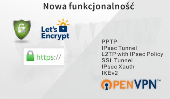 Let's Encrypt oraz OpenVPN wrouterach dla Małego Biznesu